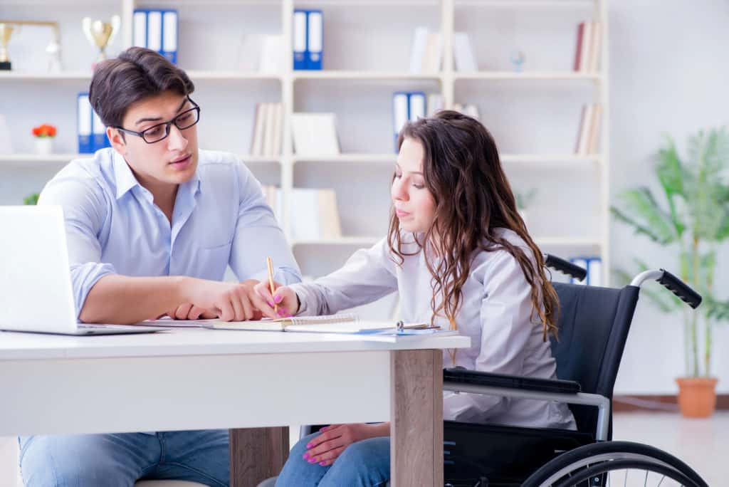 disabled student college exam