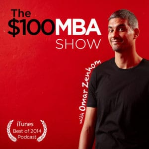 The 100 MBA Show logo