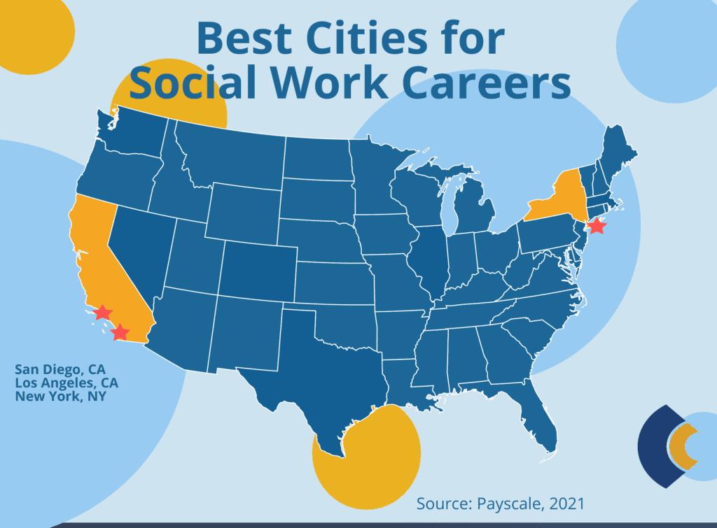 consensus social work best cities