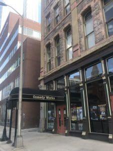 2560px Comedy Works entrance in Denver 2