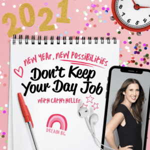 Dont Keep Your Day Job podcast logo