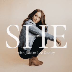 SHE with Jordan Lee Dooley podcast logo