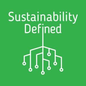 Sustainability Defined podcast logo