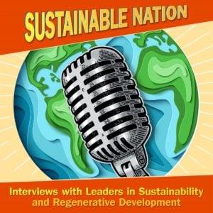 Sustainable Nation podcast logo