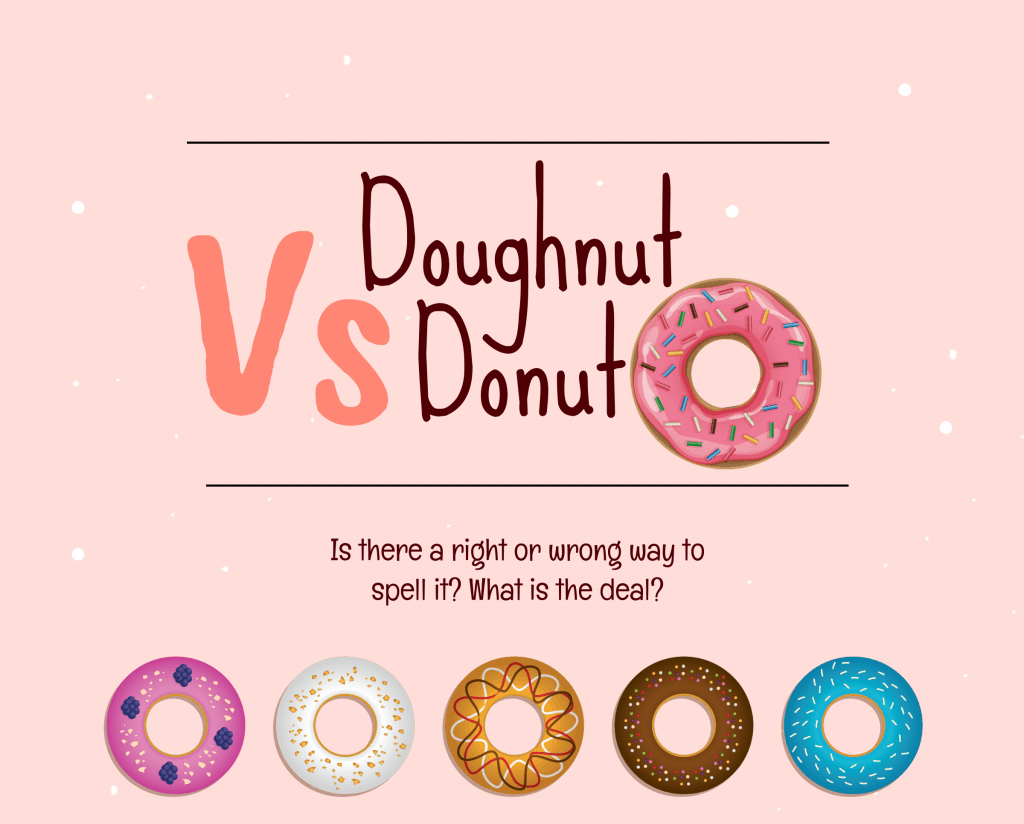 donut vs doughtnut